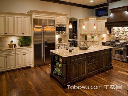 厨房橱柜门颜色搭配要点,厨房橱柜门色彩如何设计搭配
