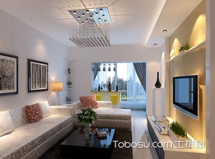 80平米三室一厅田园风格8W装修案例