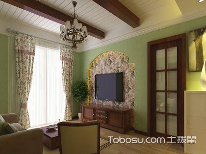 壁纸电视背景墙效果图,精致优雅美到爆