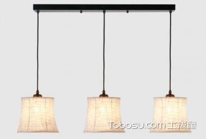 餐厅三头吊灯如何选购,安装吊灯离餐桌多高合适