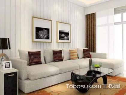138平米三居室客厅装修效果图,客厅装修该注意什么?