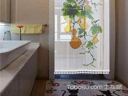 厕所珠帘隔断风水,卫生间装饰珠帘有哪些风水讲究