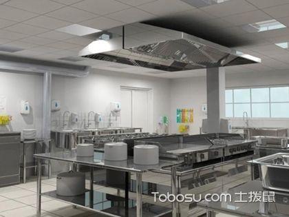 小饭店厨房装修效果图,小饭店的厨房装修时要注意哪些