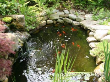 庭院水池设计图,庭院设计水池风水好吗?