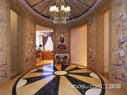 玄关装修设计风格哪种比较好?玄关装修设计新古典风格解析