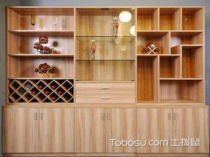 厨房酒柜装饰品-厨房隔断酒柜效果图-厨房酒柜图-装修