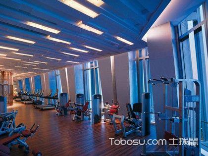 健身房装修壁纸,为您提供一个简约大气的健身环境