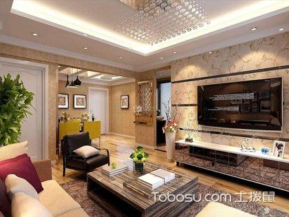 豪华装修壁纸效果图,你与奢华就差了它!