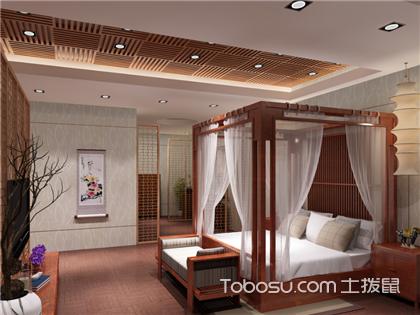 中式架子床窗幔优乐娱乐官网欢迎您,韵味十足的软装装饰你一定喜欢!