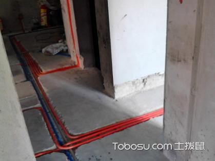 根据水电暗线装修布线图施工,严格掌握施工注意事项