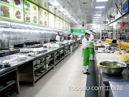 大饭店厨房装修效果图,大饭店的厨房要如何设计