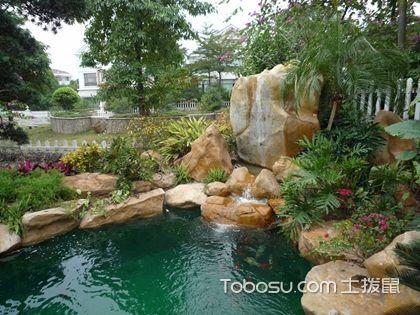 庭院水池设计效果图,庭院美景可以这样设计