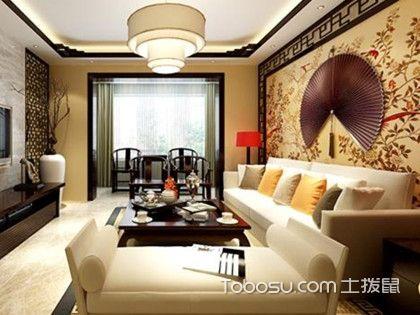新中式客厅装修效果图,喜欢中式风格朋友的福音
