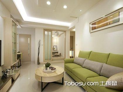 清新简约客厅装修效果图,不一样的魅力客厅