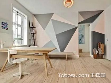 墙面处理有讲究,贴壁纸好还是刷漆好