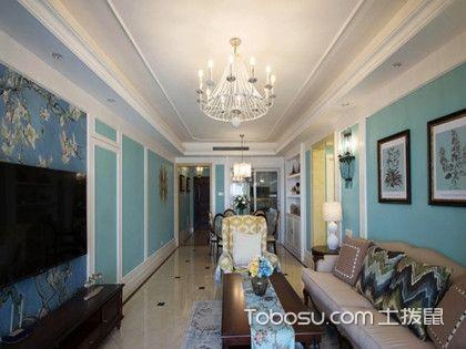 120平米美式风格四居室,别样的美式风格