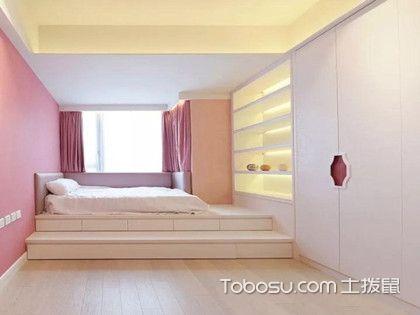 榻榻米卧室案例图赏析,6款超强收纳功能的榻榻米卧室