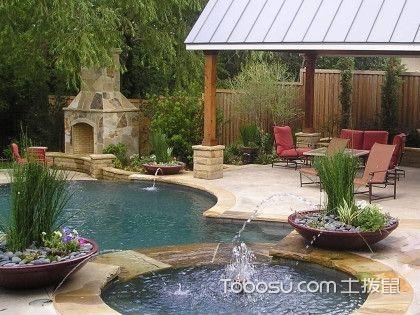 庭院水景设计效果图,打造水景效果庭院