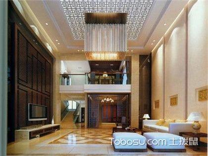 新中式挑高客厅,这样设计出来的客厅才高大上!