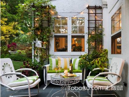 小庭院大格局,看40平方庭院设计有哪些基本原则