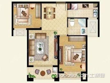 88平方户型图解析,了解房子从户型图开始