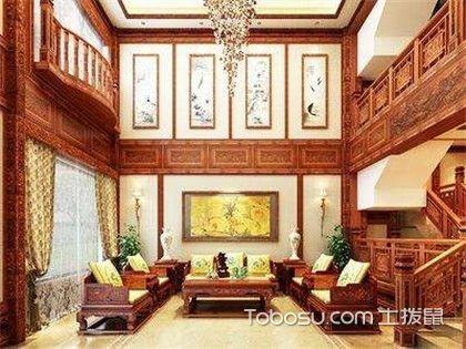 别墅客厅沙发背景效果图,大宅装修果然就是不一样!