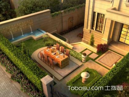 庭院地面设计效果图,庭院设计元素有哪些?