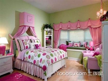 女孩房间装修注意事项介绍,女孩房间应该如何装修