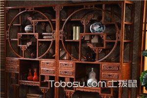 书房红木书架