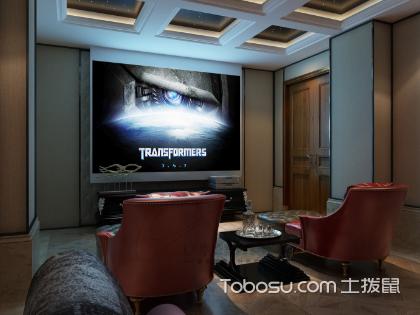 别墅影音室装修效果图看了吗,你的家装梦想实现了吗
