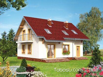 一层半小别墅外观造型,宁静舒心的养心地