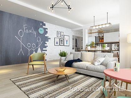 北欧风格设计说明,解析110平三室两厅北欧风格室内设计