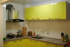 【黄色橱柜】黄色橱柜概述_适合什么装修风格_颜色搭配_效果图