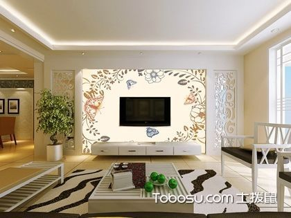 简中式电视背景墙有何特点?怎样搭配色彩?