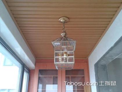 不同风格不同灯饰,阳台装什么灯好看呢