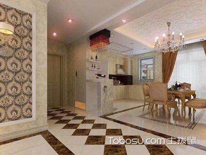 走廊菱形贴砖效果图,你家的走廊装修也可以这样