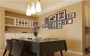 【餐厅照片背景墙】餐厅照片背景墙设计_创意_怎么样_效果图