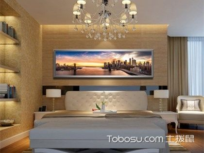 床头背景墙装饰画哪种好?装饰画推荐