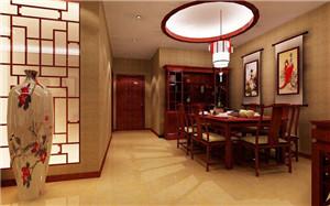 【中式餐厅背景墙】中式餐厅背景墙设计_特点_选择_效果图