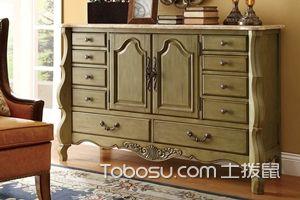 美式装饰柜