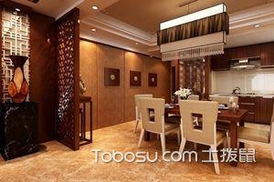 中式餐厅背景墙