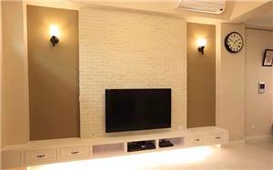 【文化石电视背景墙】文化石电视背景墙特点_安装_价格_效果图