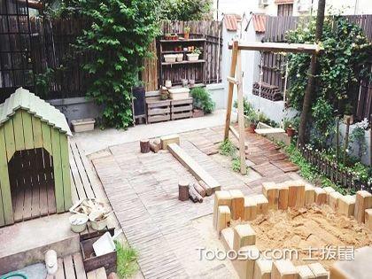一楼小院庭院装修效果图,放松身心的惬意空间