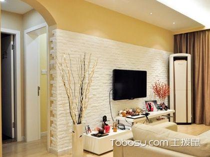 电视背景墙用文化石装饰好吗?电视背景墙文化石装饰效果图