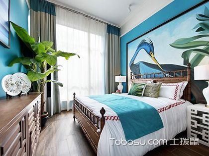 床头背景墙装修效果图,6款卧室背景墙装修图片赏析