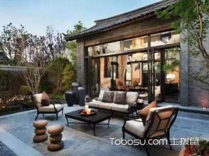 中式小庭院设计布局有哪些要点,如何巧用色彩搭配