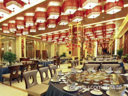 400平米饭店装修预算要多少,十万起的预算方案进来看