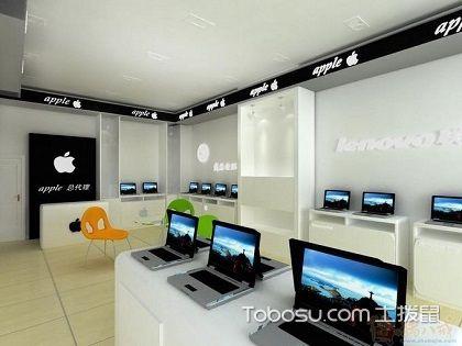 蘋果專賣店裝修,簡潔高端