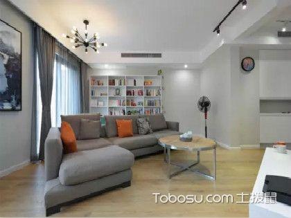 125平米房子裝修預算案例,不規則空間的美麗