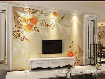 时尚抛晶砖背景墙设计,这样的轻奢家居你喜欢吗?